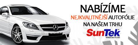 Nabízíme nejkvalitnější autofólie na našem trhu – SunTek