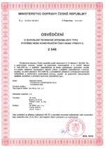 Certifikát 3M